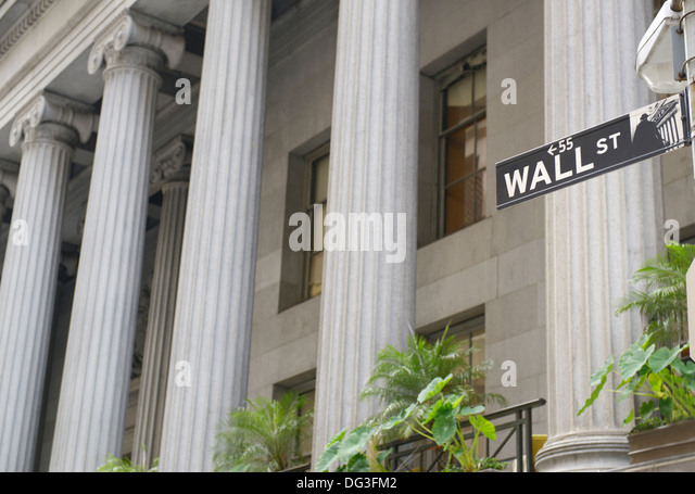 55 Wall Street - Stock Image