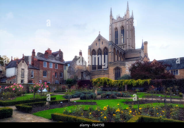 St Edmundsbury Cathedral, Bury St Edmunds, Suffolk, England, United Kingdom - Stock Image