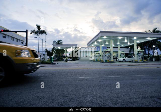 Petrol Station Miami Beach