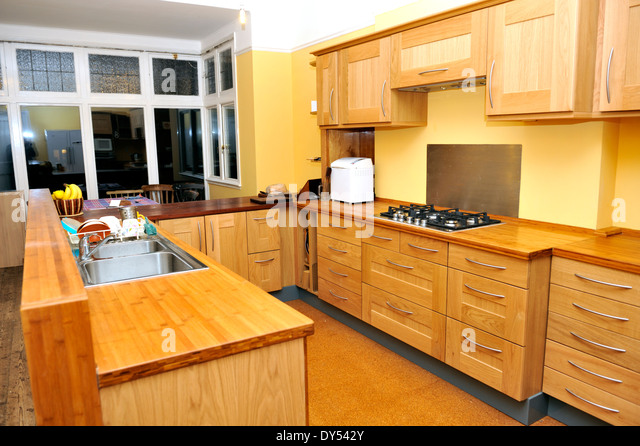 Kitchen units stock photos kitchen units stock images for Ready made kitchen units