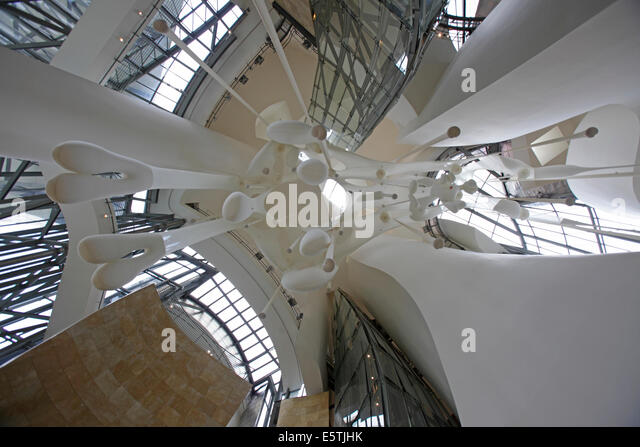 Guggenheim Museum Bilbao Inside Stock Photos Guggenheim Museum Bilbao Inside Stock Images Alamy