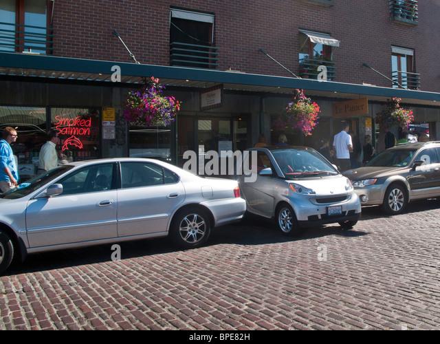 Smart Car Seattle: Perpendicular Parking Stock Photos & Perpendicular Parking
