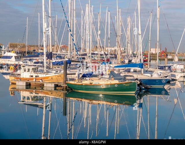 Howth Harbour - Ireland - Stock Image