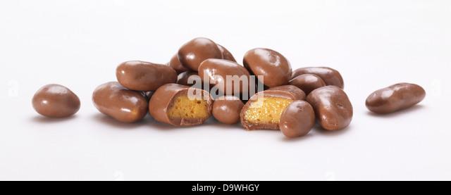 chocolate caramel - Stock Image