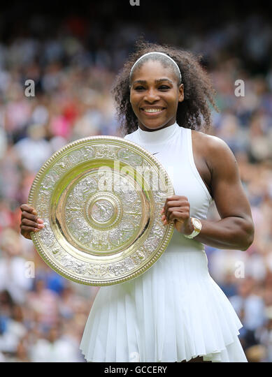 Wimbledon, London, UK. 9th July, 2016. AELTC Tennis Championships at Wimbledon London, UK. 09th July, 2016. Ladies - Stock-Bilder