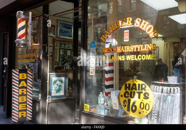 Barber Upper East Side : Barber Shop On Street Stock Photos & Barber Shop On Street Stock ...