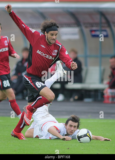 Russian Premier League: Moskva Moscow 2-1 Spartak Moscow - Stock Image