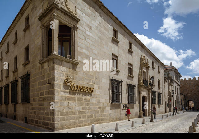 Spanish post office stock photos spanish post office for Oficina correos avila