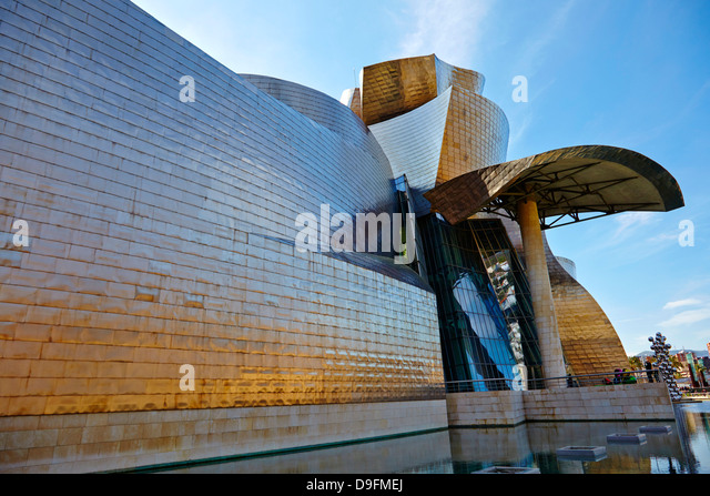 Guggenheim Museum, Bilbao, Euskadi, Spain - Stock Image