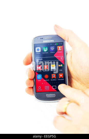 Tapping Phone Stock Photos & Tapping Phone Stock Images ...