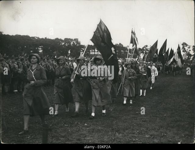 Jun. 06, 1933 - The Gustavus-Adolphus-Day in Berlin: On June 25, 33, the Gustavus-Adolphus-Association of Berlin - Stock Image