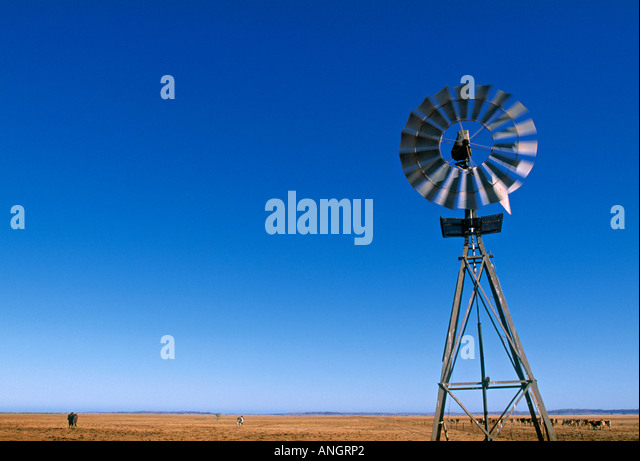 Windmill, Western Australia, Australia - Stock Image