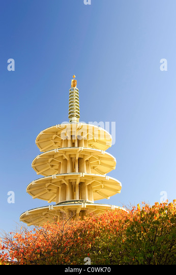 Usa, California, San Francisco, Japantown, Peace Pagoda - Stock-Bilder