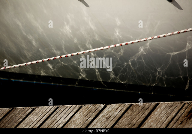 abstract view of a yacht - Stock-Bilder
