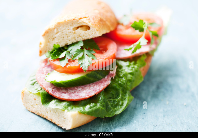 sandwich - Stock Image