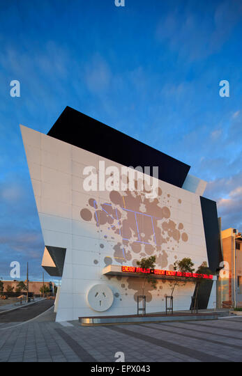 Co-Generation Plant, Dandenong Precinct Energy Project, Victoria, Australia - Stock Image