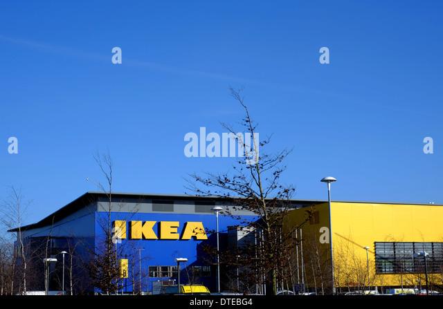 Ikea Store Exterior Stock Photos Ikea Store Exterior Stock Images Alamy