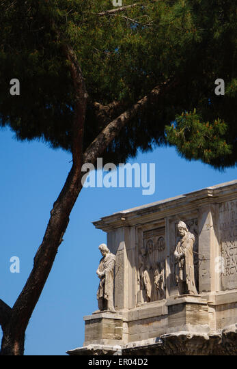 Arc di Costantino in Rome - Stock Image