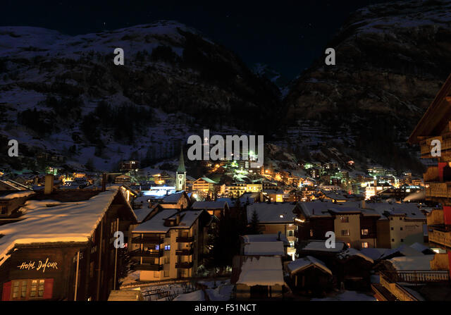 ski town night stock photos amp ski town night stock images