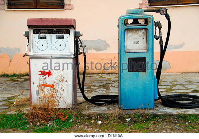 Old Gas Stations In Northern California: Old Gas Station Stock Photos & Old Gas Station Stock