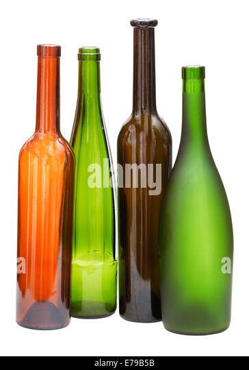 Empty whisky bottles glass stock photos empty whisky bottles glass stock images alamy - Empty colored wine bottles ...