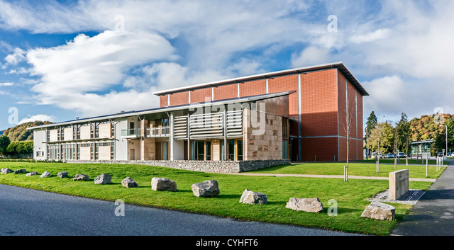 Highland Archive & Registration Centre by the River Ness in Inverness Highland Scotland - Stock-Bilder