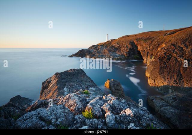 Trevose Head. Cornwall. UK. - Stock Image