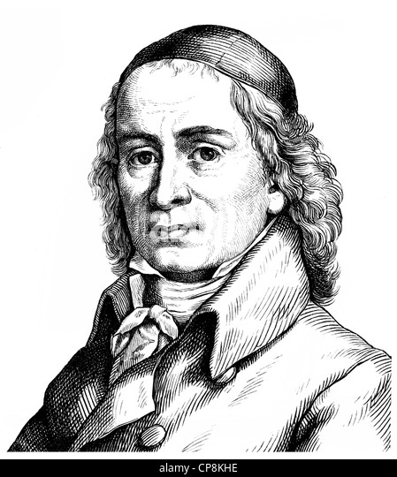 August Hermann Francke, 1663 - 1727, a German Protestant theologian, educator and hymn writer, a main proponent - Stock Image