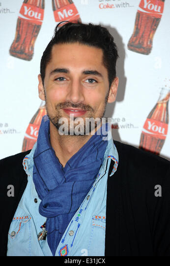 Launch of Coca-Cola's, Share a Coke campaign at One Marylebone - Arrivals  Featuring: Hugo Taylor Where: London, - Stock Image