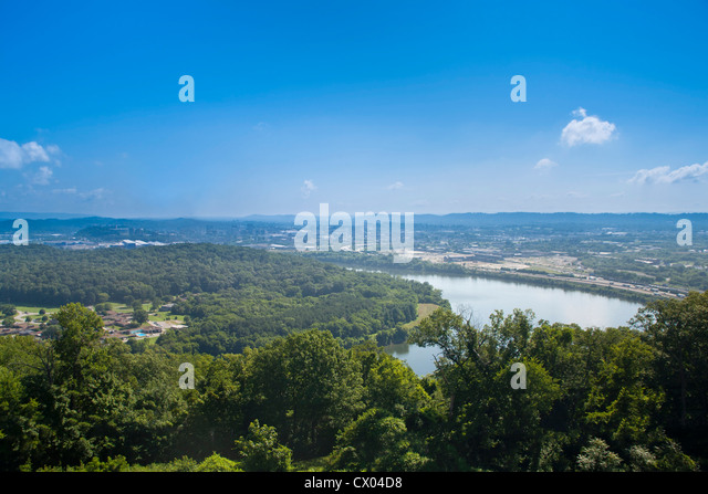 Lookout Mountain - Ruby Falls - Stock Image