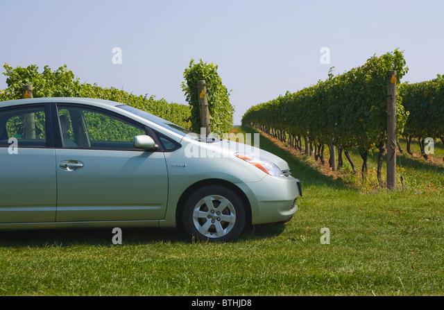 Toyota Prius Hybrid car - Stock Image