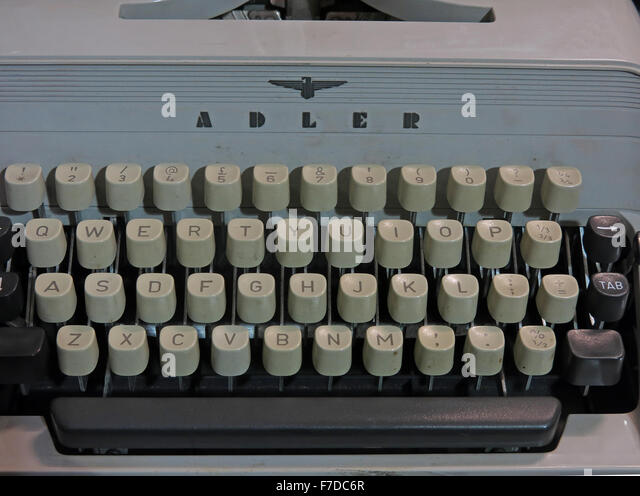 Antique Triumph Adler Gabriele20 mechanical typewriter - Stock Image