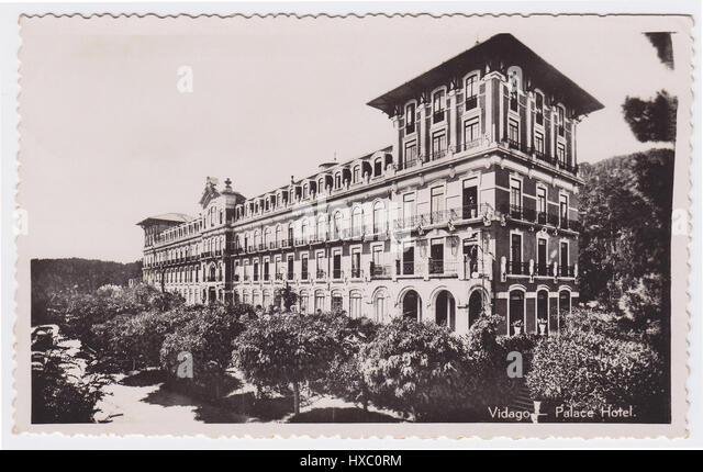 Palace Hotel, Vidago, Portugal - Stock Image