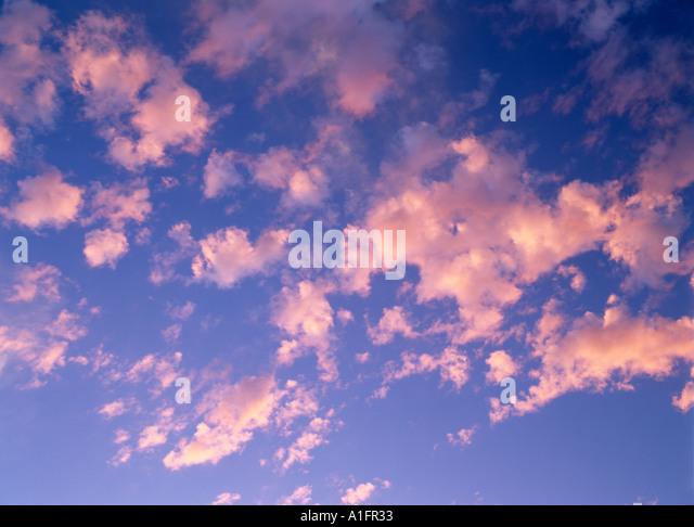 Clouds Near Alpine Oregon - Stock Image