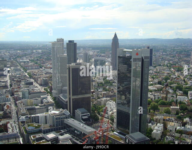 Sparkasse, Frankfurt am Main, Hessen, Germany. Photo by Willy Matheisl - Stock Image