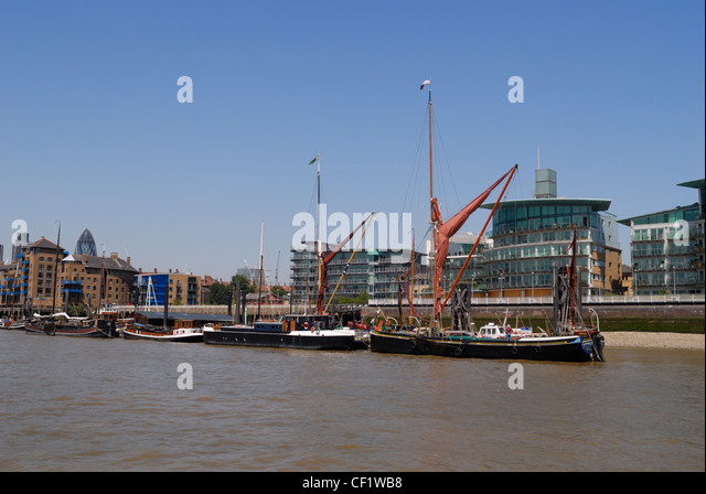 Historic Thames Barges Stock Photos Historic Thames Barges Stock Images Alamy