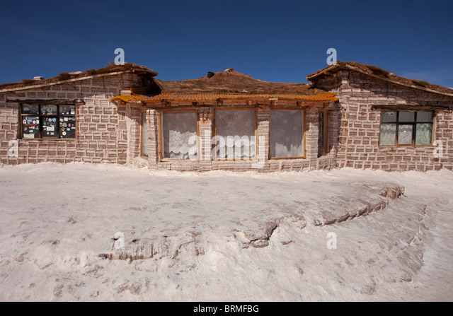 Uyuni salt hotel stock photos uyuni salt hotel stock for Salar de uyuni hotel made of salt