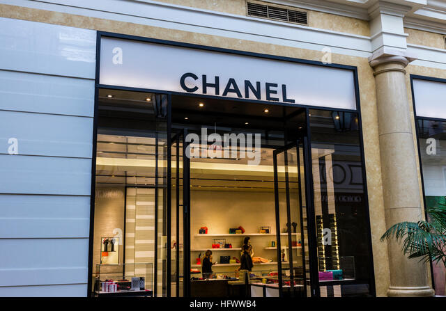 Locations of chanel boutiques