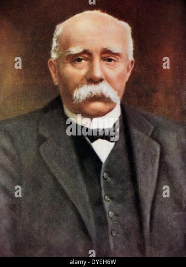 Georges Benjamin Clemenceau (1841-1929) - Stock Image