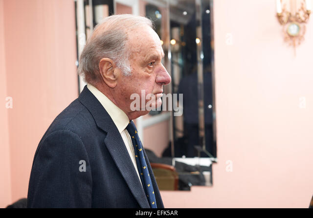 Geoffrey Palmer at the Oldie of the Year Awards 2015 - Stock Image