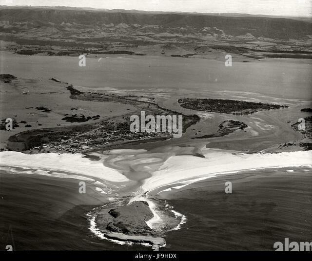 Lake Illawarra - 1936 RAHS 30048954112 o - Stock Image