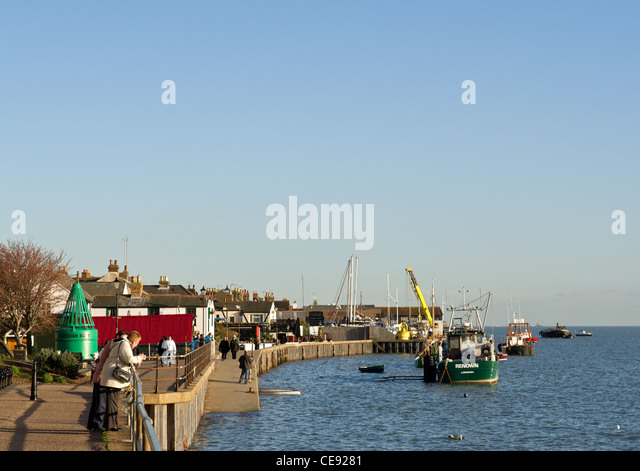 Leigh on Sea in Essex - Stock Image