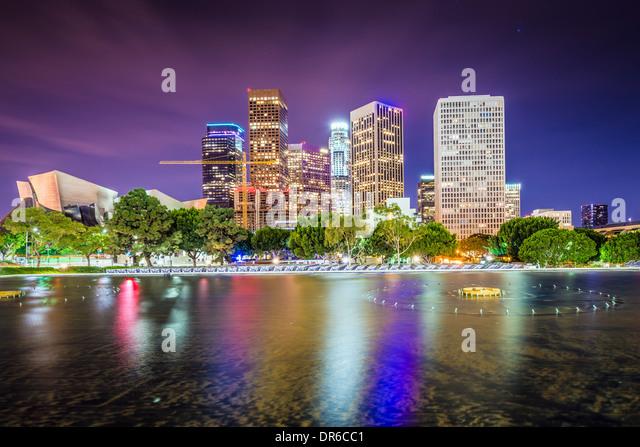 Los Angeles, California downtown skyline. - Stock Image