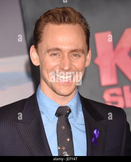 TOM HIDDELSTON  English film actor in March 2015. Photo : Jeffrey Mayer - Stock-Bilder