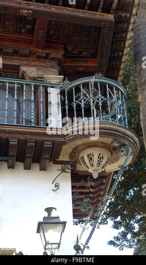 Act ii stock photos act ii stock images alamy for Famous balcony