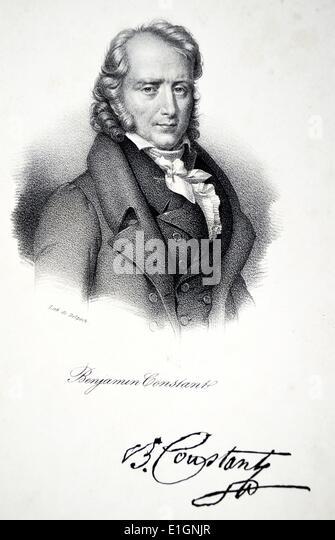Benjamin Constant - Stock Image