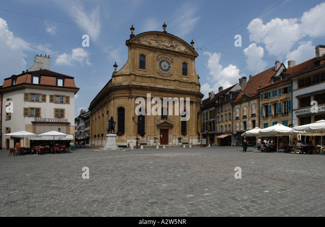 Yverdon stock photos yverdon stock images alamy for Location yverdon les bains suisse