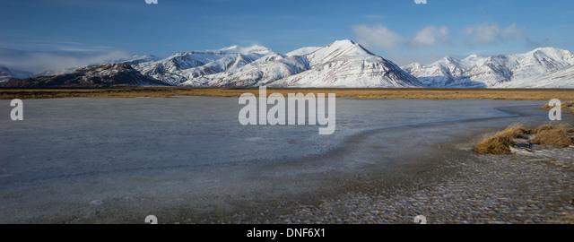 EUROPE EYRARHORN ICELAND TRAVEL VATNAJOKULL GLACIER - Stock-Bilder