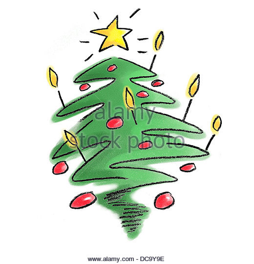 christmas tree - Stock-Bilder