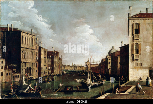 'Venice', 18th century. - Stock Image